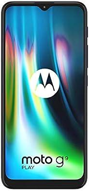 "Motorola Moto G9 Play - Pantalla Max Vision HD+ de 6.5"", procesador Qualcomm Snapdragon 662, sistema de t"