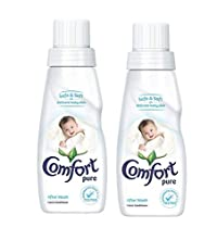 Comfort After Wash Pure Fabric Conditioner for Baby - 220 ml (Pack of 2)