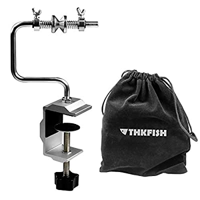 thkfish Fishing Line Spooler Adjustable Stable Protable Fishing Line Spooler System Fishing Tools Accessories Fishing Line Winder Spooler System