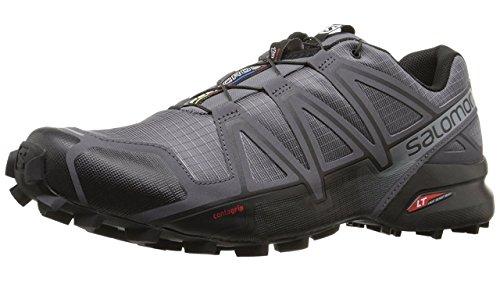 Salomon Herren Speedcross 4 Traillaufschuhe, Grau (Dark Cloud/Black Pearl/Grey), 40 2/3 EU