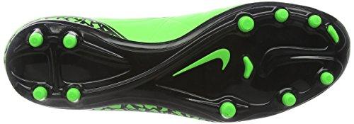 Nike  Hypervenom Phelon II FG, Chaussures de Football homme Vert (Green Strike/Black/Black)