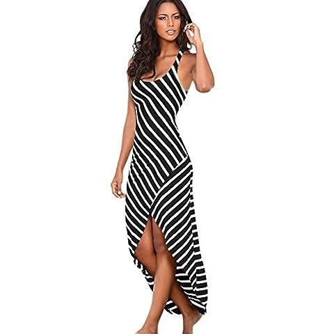 Frauen Strand Kleid, LILICAT Damen Elegant Kleidung Sommer Strand ärmellos