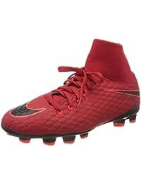 Nike Jr Hypervenom Phelon 3 DF Fg, Scarpe da Calcio Unisex – Bambini