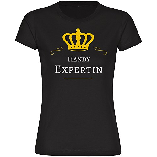 Image of Mobile Expert, Ladies Black T-shirt Size S to XXL Black black Size:XXL