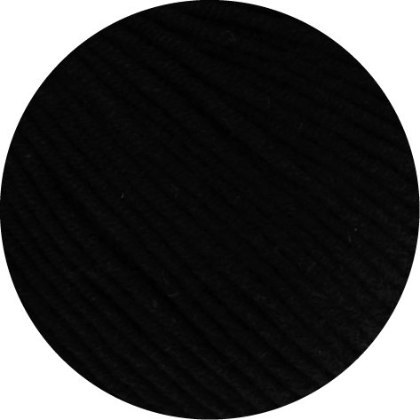 Lana Grossa McWool Cotton Mix 130 - 118 schwarz 50g Wolle