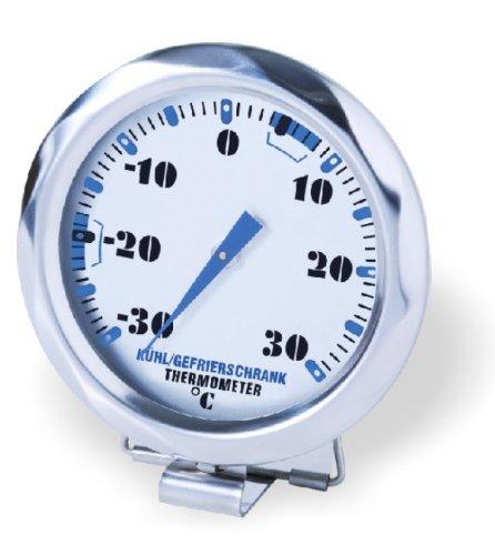 Gefrierschrank Kontrollieren (Sunartis 1-4007 T404SL Kühl- und Gefrierschrankthermometer mit Angabe der optimalen Temperaturbereiche)