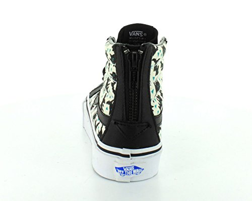 Vans U Sk8-hi Slim Zip Unisex-Erwachsene Hightop Sneaker Schwarz