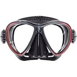 Masque de plongée Scubapro Synergy Twin Trufit - Noir Rouge