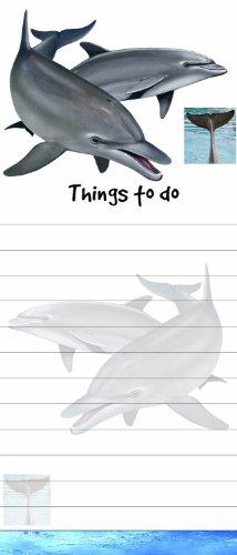 E&S Pets Dolphin magnetisch Liste Pads Einzigartige Form Sticky Notizblock Maßnahmen 8,5von 8,9cm