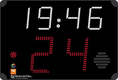 Boje Sport SC 24 TSP FIBA 24 Sekundenanzeigetafel (1 Paar / 2 Stück) von Stramatel