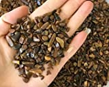 Prisha Tiger Eye Stone Chips For Healing Jewellery Decoration Vases (1 kg)