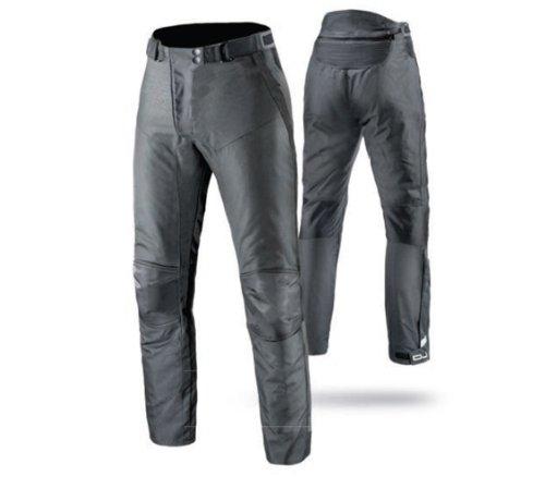 OJ - Pantalone Doppio Strato 4 Stagioni 100% Impermeabile Riderpant Man, Nero, L