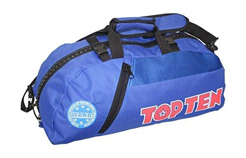 Top Ten WAKO Convertible Sports Bag/Backpack Blue/Black Blue