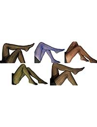 PR522 art.CORALINE - (1 PIECE) - SEXY & FASHION COLLANT AVEC COTON / MODAL - 100% fabriquées en Italie