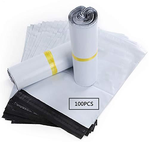 Buste Spedizione Plastica Autoadesive Borse Postali Sacchetti di Buste per spedizione spedizione plastica 100pezzi 40X55 CM