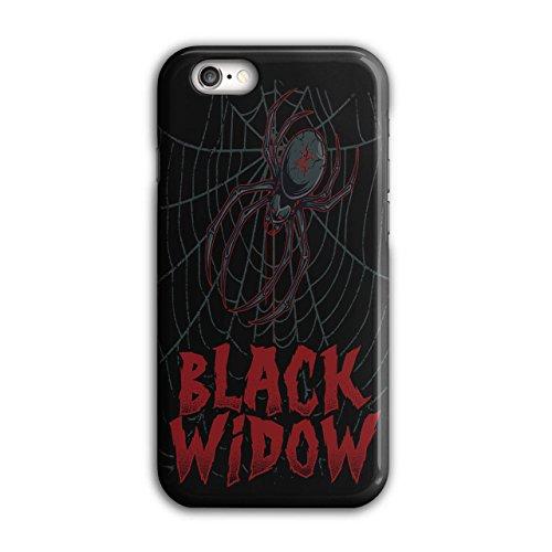 Schwarz Witwe Spinne Angst Das Netz iPhone 6 / 6S Hülle | (Witwe Kostüm Beerdigung Schwarze)