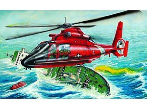 Trumpeter 2801 - US HH-65A Dolphin (Helic.) - Hh-65a Dolphin