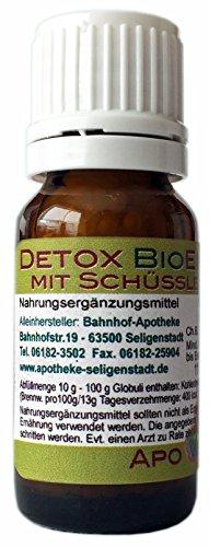 Detox BioEnerg Globuli mit Vitamin C - 10 g - Entgiftung - aus deutscher Traditionsapotheke