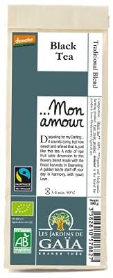 JARDINS DE GAÏA - ...Mon Amour Sachet de 100 g - Thé noir Darjeeling (DEMETER)