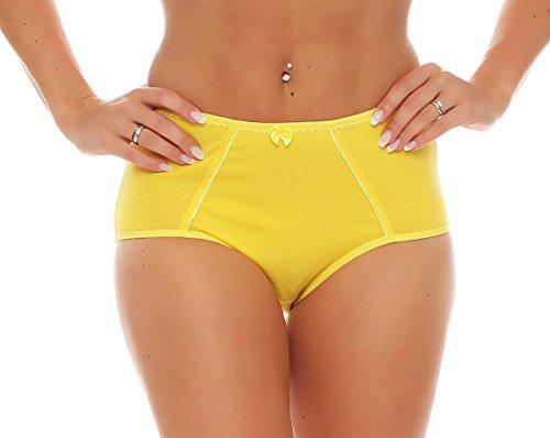 Damen Slip / Schlüpfer viele Farben Nr. 426 Gelb