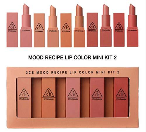 Lip Color Kit ([3CE] 3CE Mood Recipe Lip Color Mini Kit 2 (Limited Quantity))