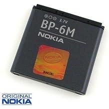 Batería de repuesto BP-6M polímero de litio 1100mAh (Original) Nokia 6280, Nokia 6288, Nokia 6233, NOKIA 6234, Nokia N93, Nokia N73, Nokia N73Music Edition