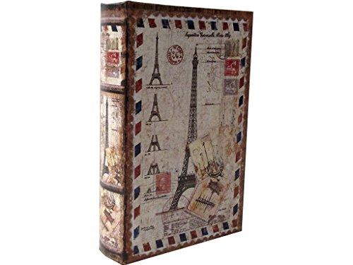 Madelcar Libro-Caja Fuerte Paris Envelope 16x5x24cm