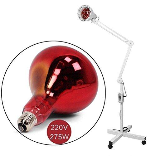 Infrarot-Wärmelampe Lointain IR Heizung Fußbodenheizung Linderung Schmerztherapie Effektiv Dimmbar Arthritis Bild 4*