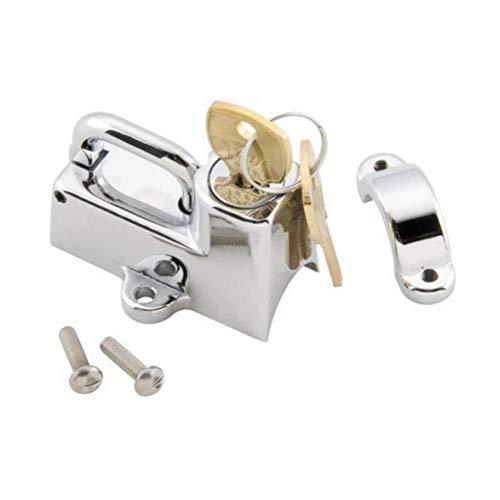 Kongqiabona Casco Moto Blocco moto Casco Lock Car-Styling Gancio appeso con chiavi Accessori moto universale