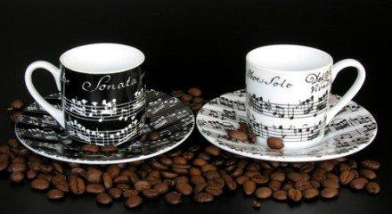 ESPRESSO TASSE + UNTERTASSE - arrangiert für Musiker: Zubehör-Artikel / Geschenkartikel [Noten / Sheetmusic] Komponist: VIVALDI ANTONIO