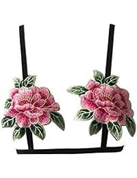Bordados Florales Ropa Interior De Mujer Intimissimi Sujetador Sin Aros