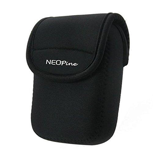 First2savvv qsl-u1–01negro neopreno Funda para Cámara Canon Powershot G7X Mark II. sx720. SX710. Nikon Coolpix A .a900.s9900.s9900s. Fujifilm X70
