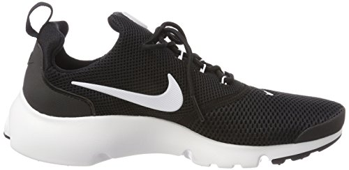 Nike Presto Fly, Scarpe da Ginnastica Basse Uomo Nero (Black/white/black 002)
