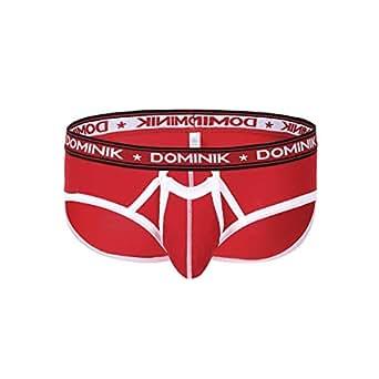 55f9d04ad0 Dominik Mens Cotton Brief Underwear: Amazon.co.uk: Clothing