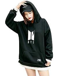 Unisex Kpop BTS Felpe con Cappuccio Hip Hop Patchwork Bangtan Felpe con  Tasca per l esercito Suga Jin Jimin Jung… aba421e3ebfa
