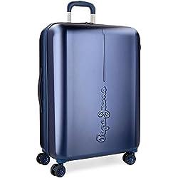 Pepe Jeans 5418863 Cambridge Maleta, 78 litros, 70 cm, Azul