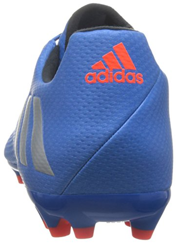 adidas Messi 16.3 Ag, Entraînement de football homme Bleu (Shock Blue /matte Silver/core Black)