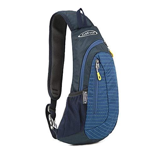 G4Free Leichte Brust Sling Schulter Rucks?cke Nette Umh?ngetasche Dreieck Pack Rucksack zum Wandern Radfahren Reisen oder Multipurpose Tagepacks - Schulter-rucksack