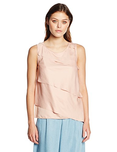 BOSS Orange Damen Top Kasimmy, Rosa (Bright Pink 677), 42