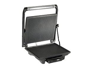 Tristar SA-2839 - Grill panini, carcasa de acero inoxidable, bandeja recoge grasa de Tristar