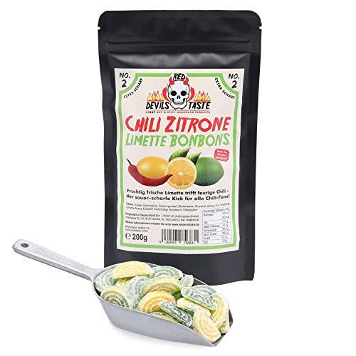 Chili Zitrone Limette Bonbon - extra scharf !!! 200g