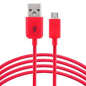 ESTAR USB Cable || Charging Cable || Data Cable || Sync Cable COMPATIBLE with MicrosoftLumia532 in Red Colour