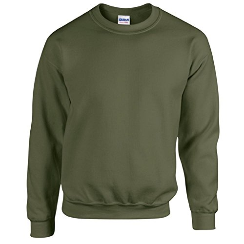 Heavy Blend Crewneck Sweatshirt - Farbe: Military Green - Größe: M