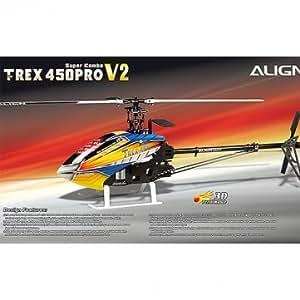 Align TREX 450 Pro V2 6CH Super Combo hélicoptère RC KX015082