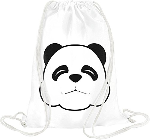 Sleepy Panda Face Drawstring bag (Sleepy Bear Tee)