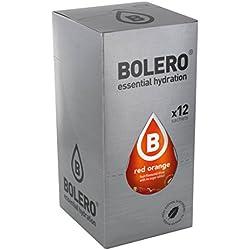 Paquete de 12 sobres bebida Bolero sabor Red Orange
