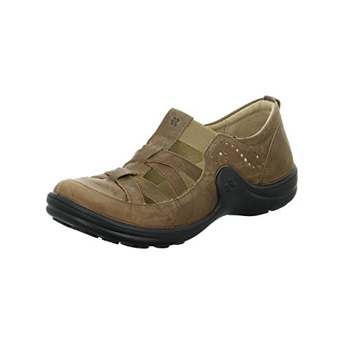 ROMIKA - Damen Slipper - Maddy 21 - Braun Schuhe in Übergrößen Mittelbraun