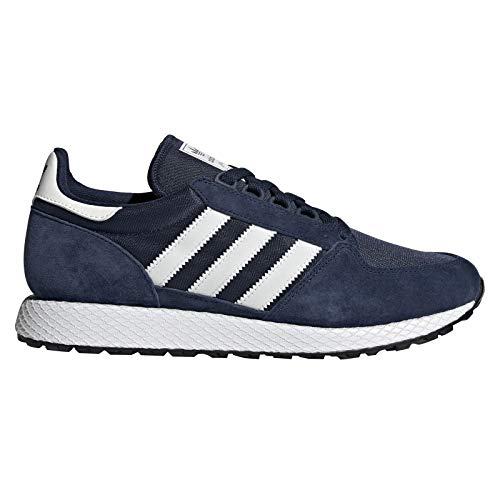 new products 98dcc 3e97a adidas Forest Grove, Chaussures de Running Homme, Multicolore (Collegiate  NavyCloud White