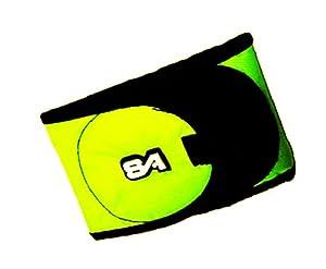 Brassard Velcro Jaune Fluo Fluorescent Sigle Sport Attitude A708304 Equipe Joueur Adversaire Airsoft
