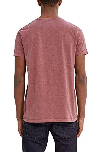 ESPRIT Herren T-Shirt Rot (Garnet Red 620)